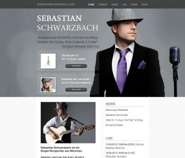 Neue Webseite von Sebastian Schwarzbach